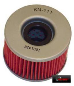 KN-111 motocyklowy sportowy filtr oleju KN sportowe filtry powietrza i oleju SUPER CENY sklep motocyklowy MOTORUS.PL - 2822427518