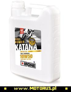 IPONE 906 FULL POWER KATANA 10W50 4L olej silnikowy motocyklowy IPONE super CENY na oleje i chemi - 2822431088