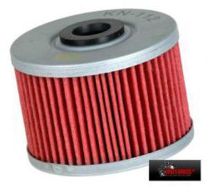 KN-112 motocyklowy sportowy filtr oleju KN sportowe filtry powietrza i oleju SUPER CENY sklep motocyklowy MOTORUS.PL - 2822427519