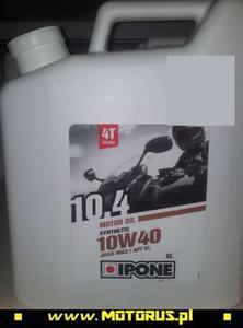 IPONE 121 10.4 10W40 4L olej silnikowy motocyklowy IPONE super CENY na oleje i chemi - 2822431102