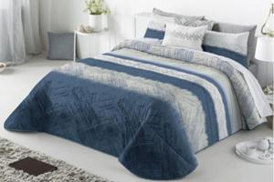 Narzuta na łóżko 270x270 Antilo Aranda Blue - 2880980994