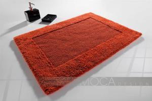Dywanik łazienkowy MOCA DESIGN pomarańczowy 50x80 - 2880979771
