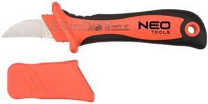 Nóż monterski izolowany 1000V 195mm Neo Tools 01-550 - 2825960233