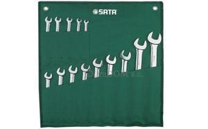 Klucze płasko - oczkowe SATA zestaw 14 szt. 09026 - 2825960534