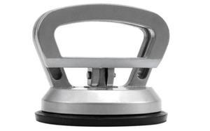 Uchwyt do szyb VOREL aluminowa przyssawka 1 x 115mm - 2825956927