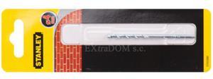 Wiertło do muru, cegły, pustaka 4mm Stanley z uchwytem walcowym STA53080 - 2825960725