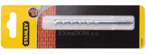 Wiertło do muru, cegły, pustaka 6mm Stanley z uchwytem walcowym STA53095 - 2825960727