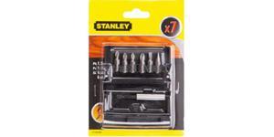 Bity STANLEY zestaw bitów 6 szt + uchwyt magnetyczny STA60480 - 2825960751
