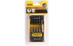 Bity STANLEY zestaw bitów 30 cz. + uchwyt magnetyczny STA60525 - 2825960753