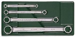 Klucze oczkowe E-TORX SATA zestaw 4 szt. E6 - E24 09012 - 2825960785