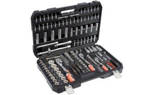 Zestaw narzędziowy Yato 1/4'' 3/8'' 1/2'' 173cz. YT-38931