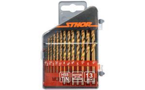 Wiertła do metalu kpl. 13cz. 1,5 - 6,5mm tytanowe - 2825956946