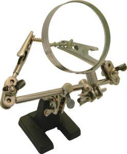 Zestaw trzecia ręka z lupą 62mm - 2825956956