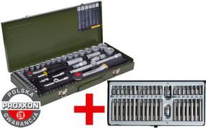 Proxxon + Rooks zestaw narzędzi 95 części PR23040 + R01.0040 Polska Gwarancja - 2825961204