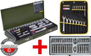 Proxxon + Selta zestaw narzędzi 110 części PR23040 + PR23821 + SE4140 Polska Gwarancja - 2825961205
