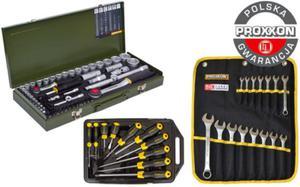 Proxxon + Stanley SUPER zestaw narzędzi 80 części 23040 + 23821 + 65-005 - 2825961207