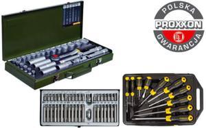 Super zestaw narzędzi Proxxon Rooks Stanley 79cz 23000 01.0040 65-005 Polska Gwarancja - 2825961427