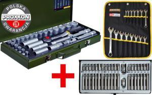 Super zestaw narzędzi Proxxon + Rooks 84cz. 23000 + 23821 + 01.0040 Polska Gwarancja - 2825961428