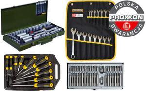 Mega zestaw narzędzi Proxxon + Stanley + Rooks 94cz. 23000 + 23821 + 65-005 + 01.0040 Polska Gwarancja - 2825961429
