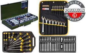 Super zestaw narzędzi Proxxon + Stanley + Yato 94cz. Polska Gwarancja - 2825961657