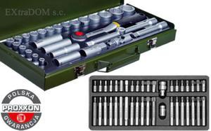 Zestaw narzędzi Proxxon + Yato 69 części 23000, YT-0400 - 2825961659