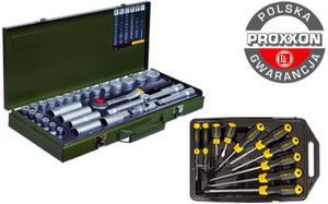Zestaw narzędzi Proxxon + Stanley 39cz. Polska Gwarancja - 2825961660