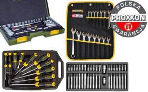Mega zestaw narzędzi Proxxon + Stanley + Yato 130cz. polska gwarancja - 2825961662