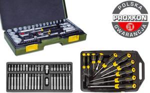 Mega zestaw narzędzi Proxxon + Stanley + Yato 115cz. polska gwarancja - 2825961665