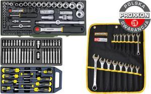 Proxxon + Stanley + Yato SUPER zestaw narzędzi 120 części - 2825961666