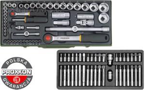 Proxxon + Yato zestaw narzędzi, komplet narzędziowy 95 części - 2825961668