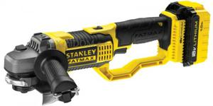 Stanley szlifierka kątowa 125mm akumulatorowa 18V 8500 obr./min 2x4,0 Ah Li-Ion kufer FMC761M2-QW - 2825962116