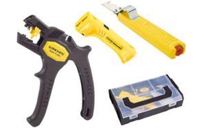 Zestaw narzędzi do ściągania izolacji Jokari 3 sztuki w walizce 090810 - 2825962250