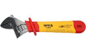 Klucz nastawny izolowany 200mm VDE YATO YT-20940 - 2858152731