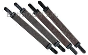 Papier ścierny Pegas do wyrzynarki włosowej gradacja 240, szerokość 12mm, długość 130mm 90.12-240 - 2865354815