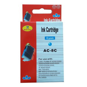 zastępczy atrament Canon [CLI-8C] cyan 100% nowy - 2824390556