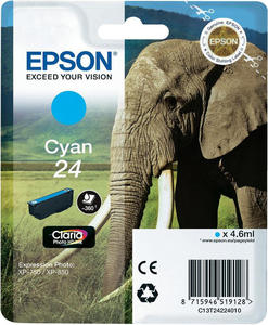 oryginalny atrament Epson [T2422] cyan - 2824393313