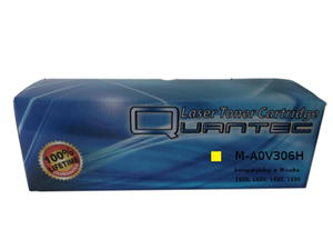 zastępczy toner Konica Minolta [A0V306H] yellow 100% nowy - 2824393624