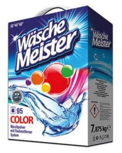 Waschemeister - proszek do prania 7,875kg 95 pran color - 2895281600