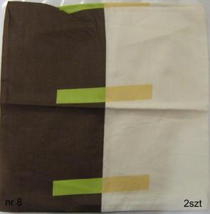 Poszewki bawełniane sypialniane, rózne wzory - 2832869027