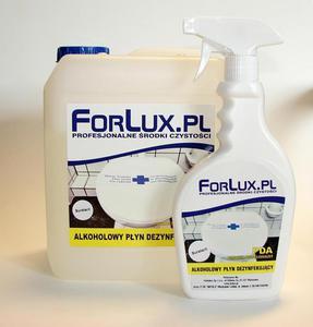 FORLUX PDA 05 - SZYBKA ALKOHOLOWA DEZYNFEKCJA POWIERZCHNI ZMYWALNYCH - 2832233018