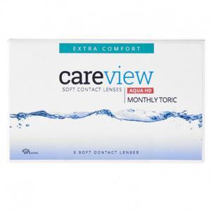 CareView Monthly Aqua HD Toric 3 szt. NOWOŚĆ - 2833523997
