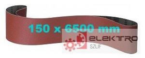 Pas ścierny bezkońcowy papierowy PS 18E 150x6500mm (granul.40-150)