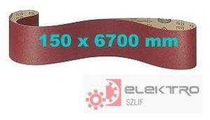 Pas ścierny bezkońcowy papierowy PS 22F ACT 150x6700mm (granul.60-120)