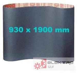 Pas ścierny bezkońcowy papierowy PS 15F 930x1900mm (granul.40-150)