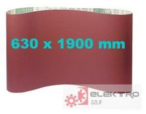 Pas bezkońcowy papierowy PS 23F 630x1900mm (granul.40-150)