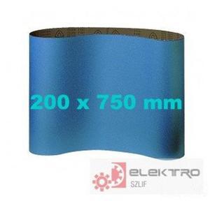 Pas ścierny bezkońcowy do cykliniarek CS 411Y 200x750mm (granul.24-120)