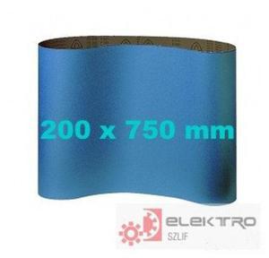 Pas ścierny bezkońcowy do cykliniarek CS 411X 200x750mm (granul.24-120)
