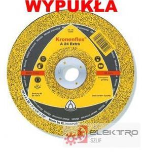 Tarcza do szlifowania Kronenflex A 24Extra 115mm WYPUKŁA - 2826064712