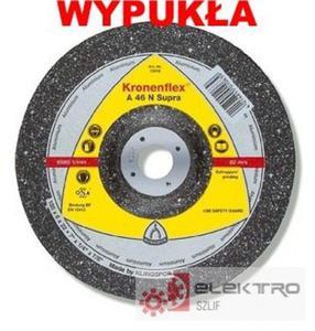 Tarcza do szlifowania Kronenflex A 46N Supra 180mm WYPUK�A