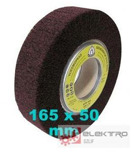Ściernica NFW 600 listkowa nasadzana z włókniny szlifierskiej 165x50 (granul.80-600)